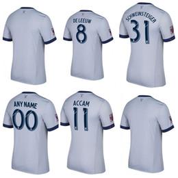 Wholesale Fire Shirts - 17 18 Fire away Soccer Jersey MLS Customized # 31 SCHWEINSTEIGER #8 DELEEUW football uniform Shirts