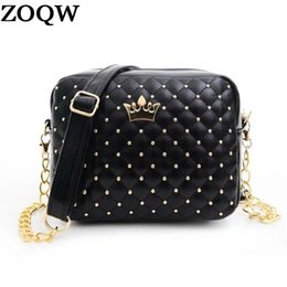 Wholesale Spring Summer Totes - 2018 Spring And Summer New Korean Shoulder Messenger Bags Leather Lingge Package Woman Sexy Handbags clutch High quality