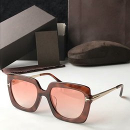 aa7616f5edf New brand TF610F model cat eye fashion sunglasses full frame high quality  casual and generous style with original box