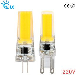 Wholesale G9 Led Cold White - LanChuang COB LED G9 G4 220V lamp dimmable bulb Replace 15W 25W for Chandelier Crystal Lamp LED Spotlight Warm Cold White