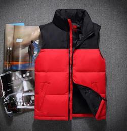 Wholesale Men S Puffer Jacket - 2018. High Quality New Winter men's Down puffer jacket Casual Brand Hoodies Down Parkas Warm Ski Mens vest 60