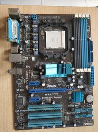 Wholesale ps2 dvi - Computer's Mainboard M4A77T 140w CPU Support with Turbo key SFS and Support RAID 0 1 10 JBOD etc