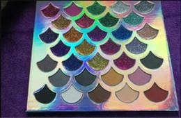 Argentina 2018 nuevo maquillaje 32 color bronce agradable polvo presionado sombra de ojos paleta Niñas Belleza Cosméticos Sombra de Ojos paletas envío de la gota Suministro