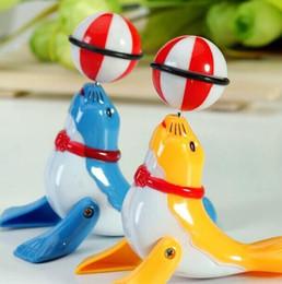 2019 novo brinquedo tartaruga natação Brinquedos de plástico de giro Comércio exterior transfronteiriço quebra-cabeça de crianças criativas Clockwork golfinhos dos desenhos animados na tenda de rua atacado brinquedos