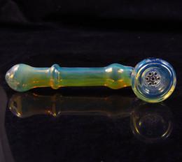 Colore della miscela del favo di bong del bong del burrer del tubo del fumo della mano del martello dello schermo di vetro incorporato trasporto libero da schermi per bongs fornitori