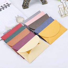 2019 farbige papierumschläge 10 teile / los Handgemachte Mini Umschläge Vintage Farbige Perle Papier Umschlag Hochzeitseinladung Umschlag Weihnachtsgeschenk günstig farbige papierumschläge
