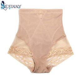 Wholesale size panties - 2018 Women Body Shaper Slimming Briefs High Waist Tummy Control Panties Shape Wear Shapewear Size L XL XXL
