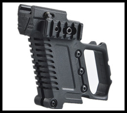 llavero auto táctico Rebajas Cargador táctico con soporte de extensión, pistolera multifunción, empuñaduras tácticas para accesorios GL para G17 G18 G19