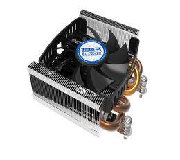 Wholesale Cpu Fan Quiet - Pccooler S815A pure copper 4 heatpipe 80mm 8cm 4pin PWM quiet cooler fan radiator for AMD AM4 CPU