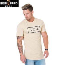 Wholesale Crossfit Clothing - New Mens Gyms jogger T shirt Crossfit Fitness Bodybuilding Letter Printed Male Short Cotton Clothing Brand Tee Tops 3 Color