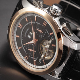 2019 forsining orologi da polso FORSINING Orologi da uomo 2016 Luxury Rose Gold Case Automatico Orologi da polso Orologio maschile Orologio meccanico da polso forsining orologi da polso economici