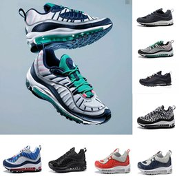 Wholesale new style shoes for mens - 2018 New Fashion Classic Style 98 98s Men Running Shoes Authentic Sports Shoes For Mens High quality AAA Best Sneakers size 36-46