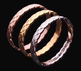 53b30619c05e Diseño clásico rombo Joyería Coco Crush serie brazalete Pulseras de titanio  de lujo Logo Pulsera Pulseras de cobre Joyería de alta calidad AAA
