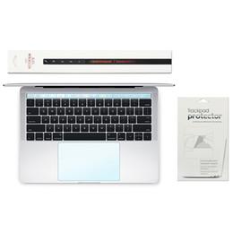 2019 macbook pro 15 2 em 1 Touch Bar + Touch Pad Protetor Touchbar TouchPad Protector com Matte Film para Novo MacBook Pro 13