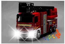 Большой звук автомобиля онлайн-Горячие продажи большой игрушечный автомобиль, большой инженерный автомобиль, 1: 32 масштаб сплава пожарные машины, лестница пожарная машина звук и свет автомобиля, Оптовая торговля