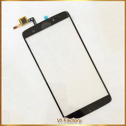 Alcatel original um toque on-line-Original Preto 5.5 '' polegadas Sensor Touchscreen para Alcatel One Touch Idol 3 60456045Y OT6045 Tela de Toque Frente Frete Grátis