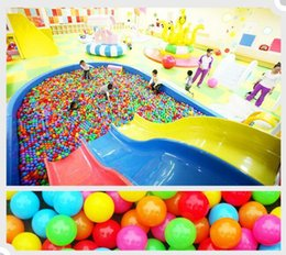 5.5cm Marine Ball Color Enfants Amusement Equipement Jouet Balle Jouet Multi-couleur Arc-En-Ball Jouet Jouet Cadeau Enfant 's Favori ? partir de fabricateur