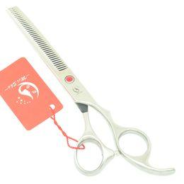 Tesoura de 6,5 polegadas on-line-Meisha 6.5 Polegada Japão Profissional Tesoura Diluindo Tesouras De Barbear Tesouras De Corte De Cabelo Cabeleireiro Tesoura Cabeleireiros Suprimentos HA0397