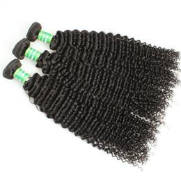 26 pollici affare dei capelli umani Sconti Bundle di capelli ricci malesi di alta qualità di Yaopoly Bundle di capelli remy 8-28 pollici che tessono 100 g di pacchi di capelli umani