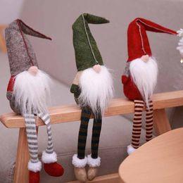 Deutschland Weihnachtsschmuck Langer Bart Weihnachtsmann-Puppe spielt künstliche Puppen-Party Weihnachtsgeschenk Wohnkultur Festival Lieferungen Drop Ship 110216 Versorgung