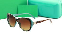 2019 bicchieri di leopardo di colore per l'uomo fashion 4048 New Luxury Diamante marca Occhiali da sole per le donne Fashion Glasses Designer Trendy Occhiali da sole UV400