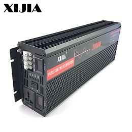 500W 1000W 2000W 2500W 3000W dc 12V 24V à CA 110v 120v 220v 230 Volts onduleur de puissance d'onde sinusoïdale pure avec bypass de contrôleur solaire ? partir de fabricateur