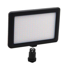 PAD-192 mini led lâmpada de luz de vídeo iluminação fotográfica com sapatos quentes para canon nikon sony filmadora dv dslr camera flash de