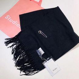 Wholesale Female Costumes Men - ACNE Echarpe Luxury Brand Scarf Unisex 2017 Female Male Canada Wool Cashmere Scarf Pashmina Tassels Women Men Wrap Warm