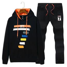 Wholesale Running Sweat Suit - 2018 brand warm sporting suit men winter cotton clothes hooded polo sweat suits men sets track tracksuit sportswear survetement