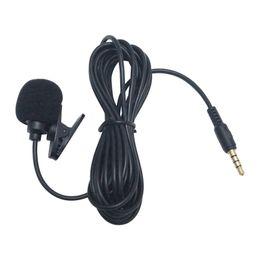 Автомобильный GPS-комплект микрофона Клип крепление для салона автомобиля Громкая связь с разъемом 3,5 мм и кабелем 3M # 2275 от Поставщики наушники sony bluetooth
