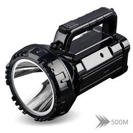lanterna brilhante Desconto Lanterna LED recarregável brilhante 20W Lanterna LED recarregável 2800mAh bateria de lítio Dois modos de trabalho