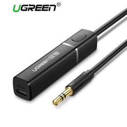 transmissor remetente Desconto Ugreen bluetooth 4.2 transmissor 3.5mm de áudio bluetooth remetente apoio remetente conexão two-ponit APTX para TV / PC