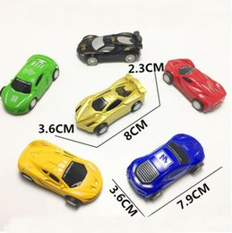 Wholesale pull back toy cars - Toys Car Model Toys Cartoon Mixed Pull Back Toy Supply Children Educational Toy Vehicle Wholesale DHL free shipping