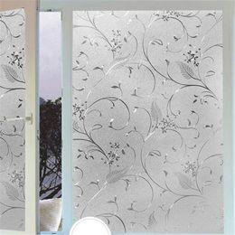 Wholesale Wallpaper Rolls Green - beibehang Electrostatic glass sticker window light transparent opaque bathroom shade sunscreen glass Cellophane wall paper