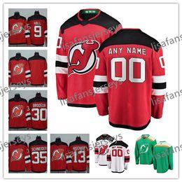 c7db3dcef31 Custom New Jersey Devils Jerseys 2018 New Brand Stitched Any Number Name 21  Kyle Palmieri 6 Andy Greene 19 Travis Zajac Hockey Jersey S-4XL discount  devils ...