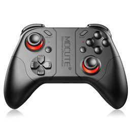 2019 joysticks para pc MOCUTE 053 Gamepad inalámbrico Bluetooth 3.0 Game Joystick para IOS Android Phone Tablet PC Portátil para VR 3D Glasses joysticks para pc baratos