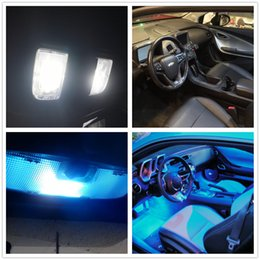 Wholesale Light Lamp For Toyota - WLJH 8x High Quality 2835 SMD Lamp Bulb Car Led Interior Light Package Kit for Toyota Camry 2007 2008 2009 2010 2011