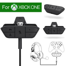 xbox stereo headphones Promo Codes - Gamepad Stereo Headset Headphone Audio Gaming Adapter For Microsoft For Xbox One Controller Game Console Accessory Car Charger