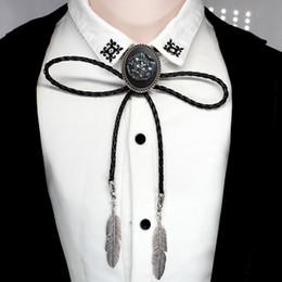 Canada New Game Trendy Thrones Bolo-cravate loup L'hiver arrive Stark Bolo Tie cravate de bijoux faits main Offre