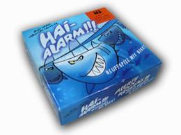 Бесплатная доставка акула оповещения настольные игры карты HAI-ALARM акула привидениями внимание передний план настольная игра от Поставщики черная магия бумага