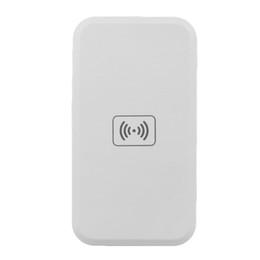 Tragbares telefon-ladegerät für samsung s6 online-Tragbares Qi Wireless Charger Ladegerät Pad Ladegerät für Samsung Galaxy S8 Plus S7 Rand S6 Rand Plus Hinweis Elephone P9000