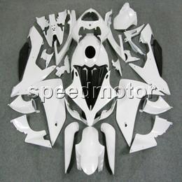 Nachrüstkunststoffe online-Farben + Geschenke Einspritzungs-ABS weiße Verkleidung für Yamaha YZFR1 2007 2008 YZF-R1 07 08 YZF R1 aftermarket Karosserienplastikinstallationssatz