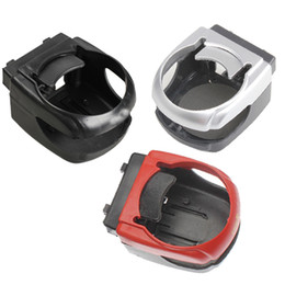 Wholesale Air Condition Auto - Clip-on Auto Car Truck Vehicle Air Condition Vent Outlet Can Drinking Water Bottle Coffee Cup Mount Stand Holder Radom Color