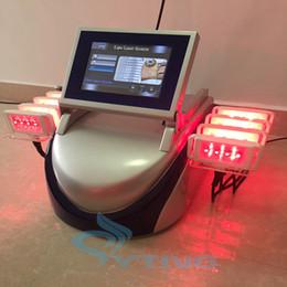 verwendet brennender laser Rabatt ausgezeichnete ergebnisse lipo laser abnehmen ausrüstung fettverbrennung gewichtsverlust maschine 160mw hause salon verwenden 10 laser pads