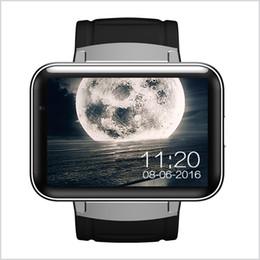 Relógio inteligente dual core on-line-DM98 relógio Inteligente Android 4.4 MTK6572 Dual Core 1.2 Ghz 2.2 polegada IPS HD 900mAh Bateria 512 MB Ram 4 GB Rom 3G WCDMA GPS WIFI smartwatch