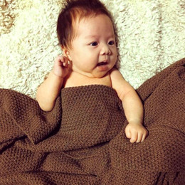 2019 chevron baby decken 1 stück baumwolle babydecke reine farbe Babydecke Gestrickte Neugeborenen Swaddle Wrap kleinkind bettdecke Kinderwagen Decken schlafen D5