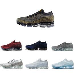 Wholesale Red Light Platinum - air Vapormax shoes Pure Platinum Triple Black Men Women Running Shoes Vapormax White Deep ed Explorer Light Jogging men Sport shoes Sneakers