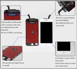 mantenimiento de pantalla Rebajas 1 PCS Pantalla LCD para teléfono 6s / 6spuls accesorios de ensamblaje de pantalla de teléfonos móviles dentro y fuera de la pantalla LCD de mantenimiento de pantalla