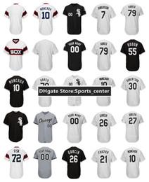 Wholesale David Beckham - Mens Chicago Jersey 10 Yoan Moncada 30 David Robertson 27 Lucas Giolito 15 Gordon Beckham 53 Melky Cabrera Custom Stitched Baseball Jerseys