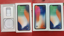 Wholesale Iphone Box Eu Accessories - Original OEM Quality US EU Version Phone Packing Box Empty Package Boxes for iphone x 8 8plus without accessories